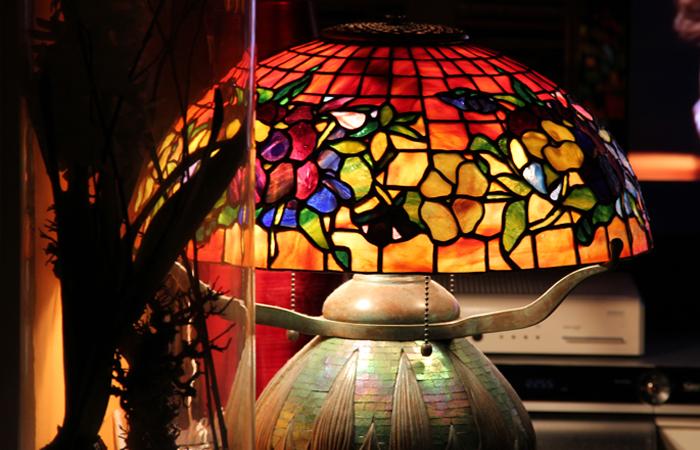 Opalescenze di vetro lampade tiffany e vetrate tiffany